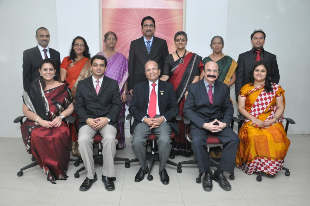 Head of Departments from L to R Standing Mr.Bipin Ganatra  - Accounts,  Ms. Lalita Dewlekar- IPD Meenaben - Purchase Dr. Yogini Patel -  Pathology Laboratory Medical & Blood Bank Sis Lalamma Alex - Nursing superintendent Mr Shashi Suttar- OPD      Sitting from l to R  Ms. Kamlesh Sadaranagani -  Marketing & Public Relations Dr. Sameer Kodkani - Hospital Administrator (Medical) Dr. Ashok Mehta- Medical Director  Mr. Rajhans Bhugra - Hospital Administrator Ms. Mausami Desai -  HRD