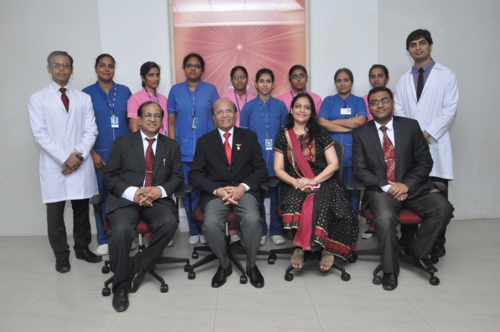 ICU Team with Dr P K Jain and Dr Ashok Mehta